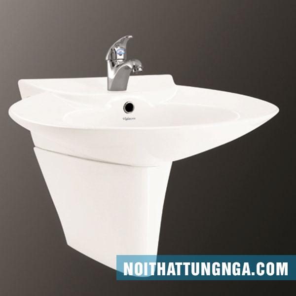 Chậu rửa Inax treo tường cho không gian phòng tắm