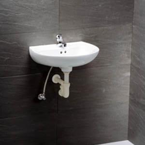Chậu rửa mặt treo tường CAESAR L2145