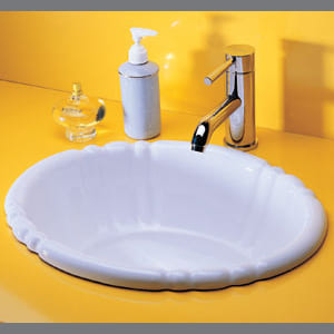 Chậu rửa mặt dương bàn đá CAESAR L5022