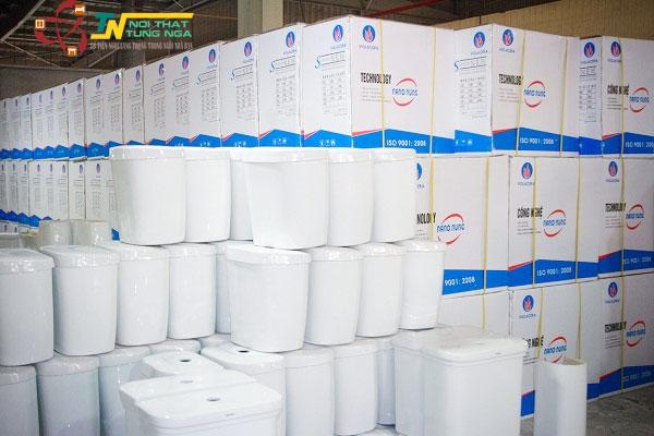 Địa chỉ bán thiết bị vệ sinh Viglacera chính hãng giá rẻ tại Hà Nội