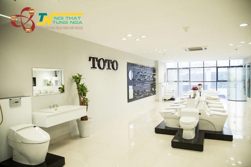 Phân phối thiết bị vệ sinh Toto chính hãng Uy Tín tại Hà Nội