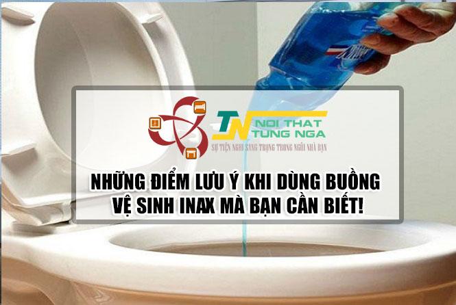 10 sai lầm khi sử dụng bồn cầu INAX người Việt hay mắc phải