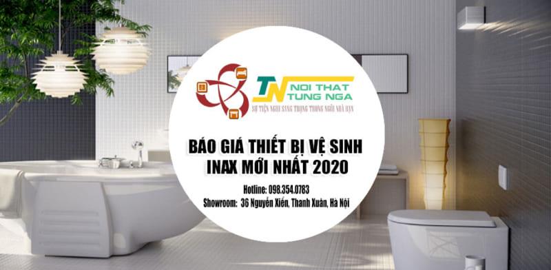 Báo giá thiết bị vệ sinh Inax mới nhất 2020 tại Hà Nội
