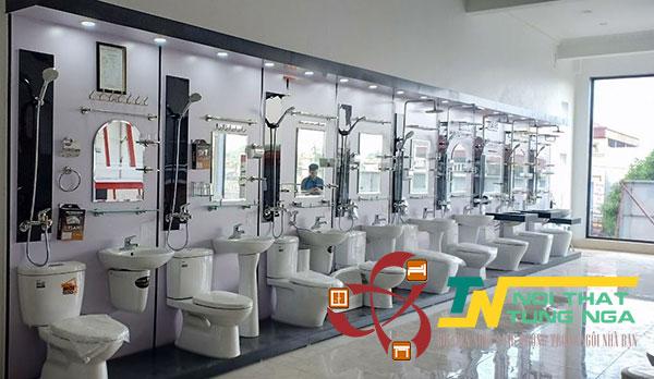 Nội Thất Tùng Nga – Đại lý phân phối thiết bị vệ sinh chính hãng 100% giá gốc tại Hà Nội