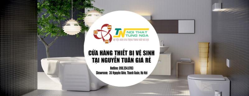 Cửa hàng đại lý thiết bị vệ sinh tại Nguyễn tuân giá rẻ ưu đãi