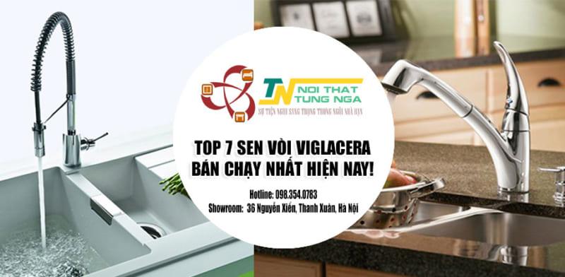 Top 7 mẫu vòi rửa chén nóng lạnh Viglacera giá rẻ Uy Tín tại Hà Nội
