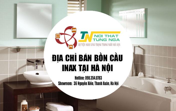 Địa chỉ bán Bàn Cầu - Bồn Cầu Inax Uy Tín Giá Rẻ tại Hà Nội